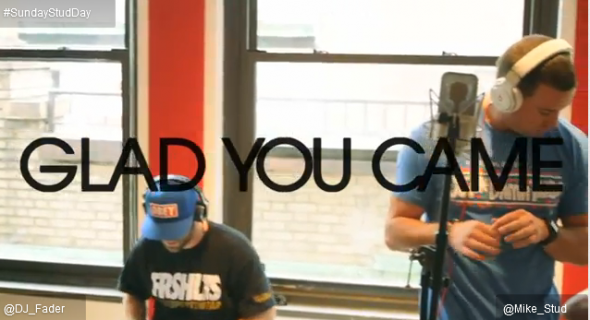 mike stud the wanted glad you came-590x320